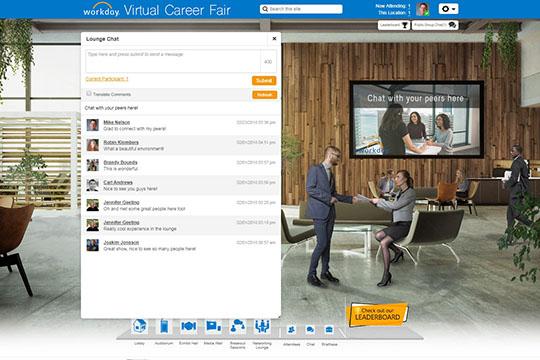Virtual Trade Show Platform - Networking