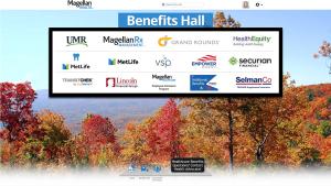 Virtual Benefits Fair Exhibit Hall