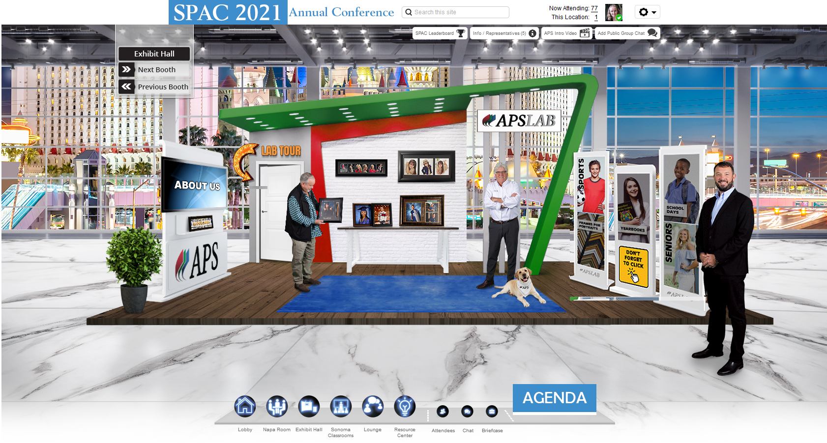Virtual Conference Booth