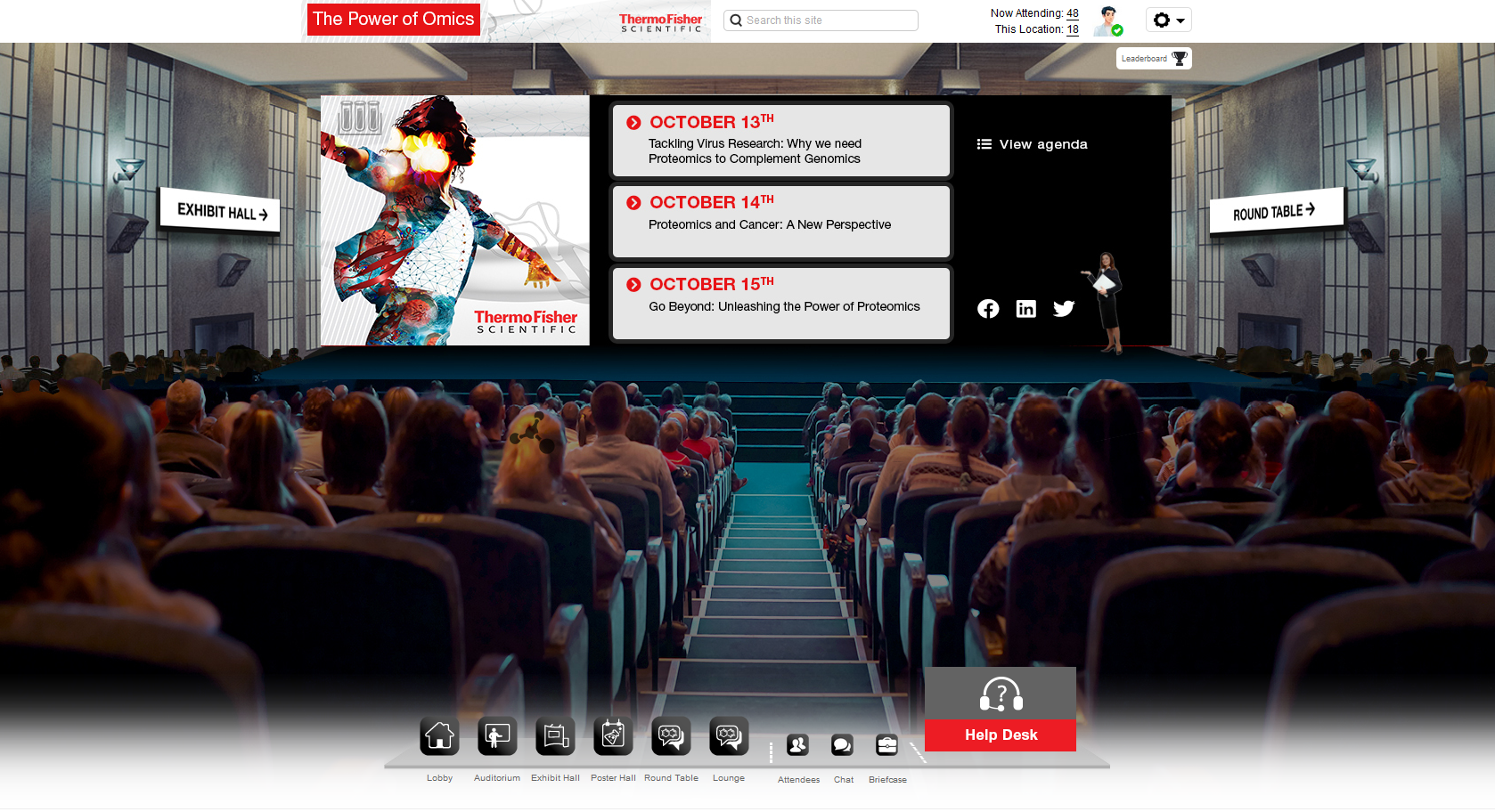 Virtual Conference Theater