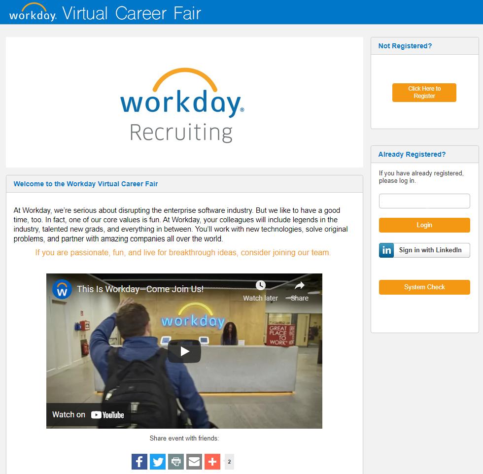 Virtual Conference Platform Lobby